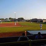 Ball game at Ashford University Field