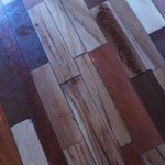 Mixed Wood Flooring Was Awesome to Behold