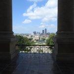 The Libray balcony