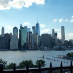 View of the NY skyline from the Park.