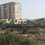 7th floor view Malaga building