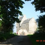 Castle used in the series Outlander