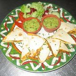 Quelques spécialités mexicaines en plus de la carte de viandes grillées au feu de bois !