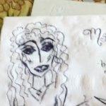 My Napkin drawing
