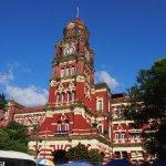 Maha Bandoola Garden - CIty Hall and High Court