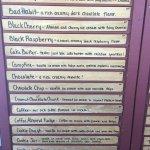 Ferris Acres Creamery menu 2