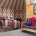 Photo de Sourdough Sue's Yurts