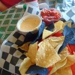 Cheese Dip & Salsa
