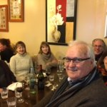 Our lovely group of friends and family - lovely to reunite