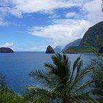 The view from Kalaupapa Peninsula