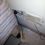 Electric outlet in room