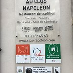 Photo de Au Clos Napoleon