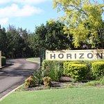Horizons Golf Resort's main entrance