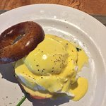 Called in for breakfast and coffee. Probably the best coffee in Bali. Eggs Benedict perfectly co
