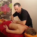 gerne eine Massage, auf Anfrage natürlich im Hotel