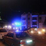 Night view of Club Evin