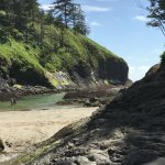 Deadman's Cove in Cape Disappointment Park.