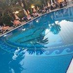 Speisebereich am Pool