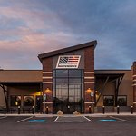 Beautiful building with 25-yd and 100-yd indoor shooting bays, retail store, classrooms/event ro