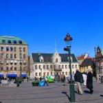 Stortorget Square, Malmo, Sweden