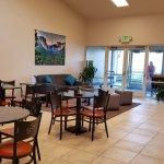 Hotel Lobby and Breakfast Area