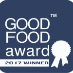 Our second consecutive Good Food Award for 2017
