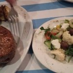 400g Rump Steak & Salad
