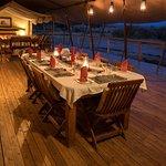 Dining Tent at Offbeat Mara