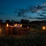 Bush dinner at Offbeat Mara