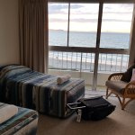 2nd bedroom with 2 single beds and views