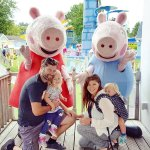 Kids loved meeting Peppa and George