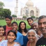 Our Family at Taj Mahal!