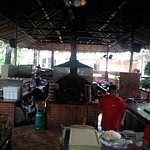 Open Air Cooking and Seating and Meet the Owner!