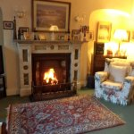 The sitting room at Corrib View.