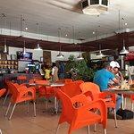 interior of Munali Cafe