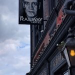 Railway Hotel pub sign