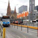 Flinders Street Tram Station