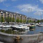 et oui Caen est un port dans les terres