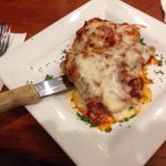 chicken parm chicken and eggplant parm salmon special pasta/sausage special