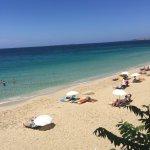 Taverna on the way down to Makris Gialios beach Lassi