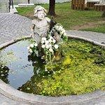 Brunnen am Empfang