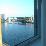View of the Spree from the suite.