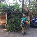 Small individual heritage sleeping cabin