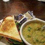 BLT and Split pea soup