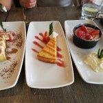 Dessert at Gambero D'oro