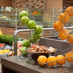 Fuel up with our popular American buffet breakfast, or order from the a la carte menu.