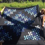 These gals made this quilt while staying here- beautiful!