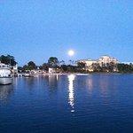 photo taken at 8:56P M .......of the moon, at Baytowne in May