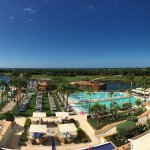 Panoramic view from room 348