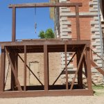 Gallows, Tombstone Courthouse